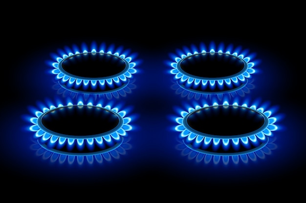 Gas ring stoves