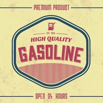 Gas station background design