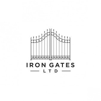 Gate logo design