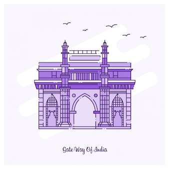 Gate way of india landmark