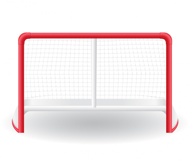 Gates goalie for the game of hockey.