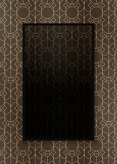 Gatsby patterned frame