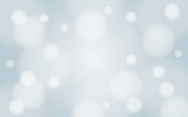 Gaussian blur white snow of winter bokeh background wallpaper vector design