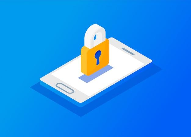 Gdpr - general data protection regulation. web banner header and background