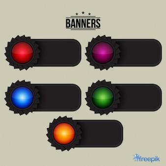 Gear banners