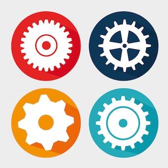 Gears, cogs or wheels