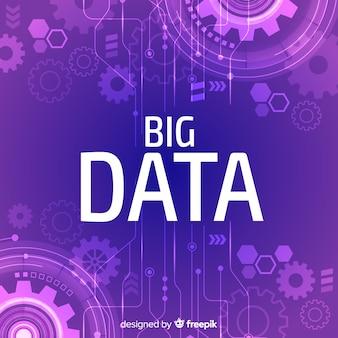 Большой фон данных gears