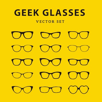 Geek glasses collection