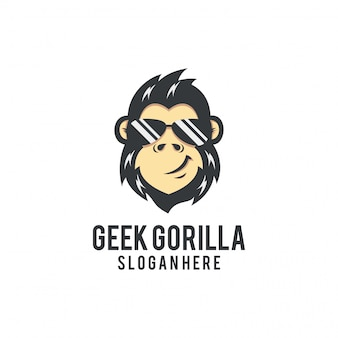 Geek gorilla logo