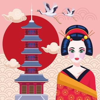Храм гейши и сэнсодзи
