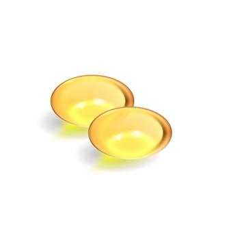젤 알약, 비타민 d, e, omega3, 생선 기름