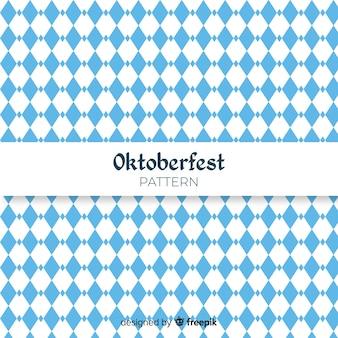 Gemoetrical oktoberfest concept background