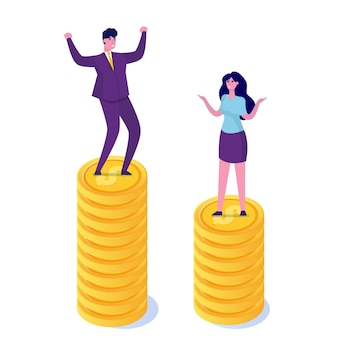 Gender gap, business difference and discrimination