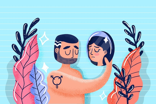 Gender identity concept
