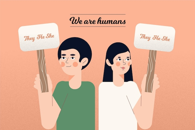 Gender-neutral movement concept