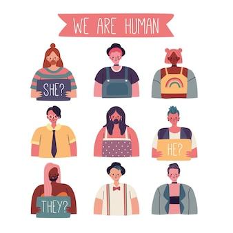 Gender neutral movement concept