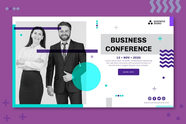General business banner concept