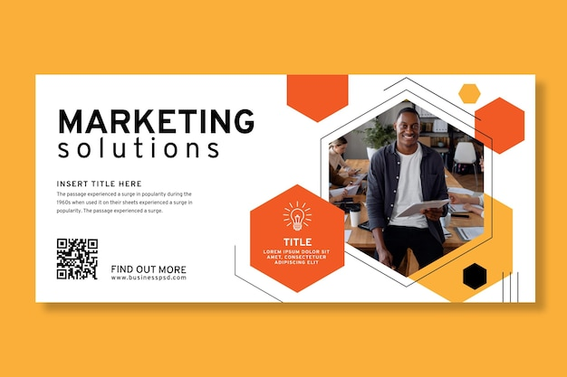 General business banner template
