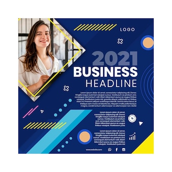 General business flyer square