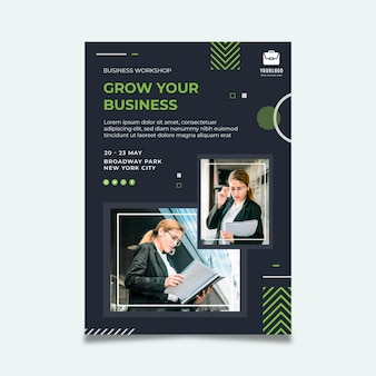 General business flyer template