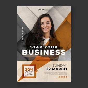 General business flyer vertical