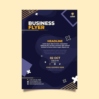General business flyer