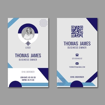 General business id card