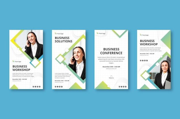 General business instagram stories corporate template