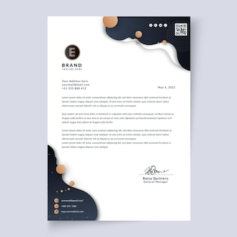 General business letterhead template