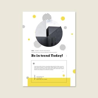 일반 비즈니스 포스터 템플릿