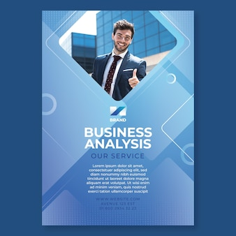 一般的なビジネスポスター