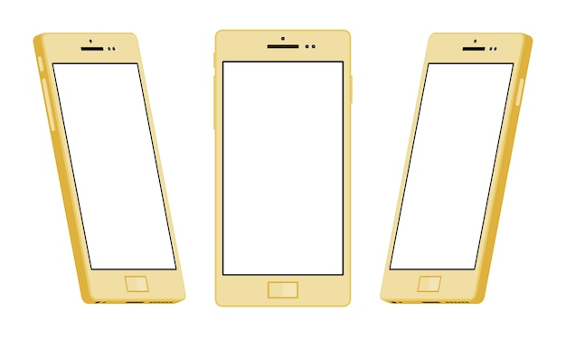 Generic gold smartphone
