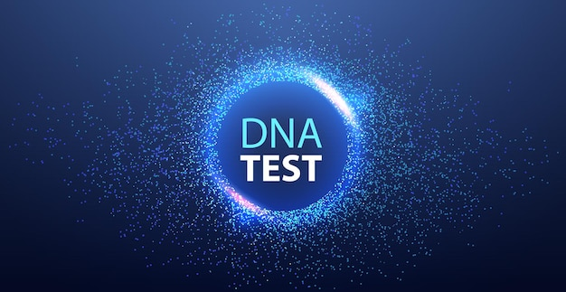 Genetic dna science template molecule structure test clinic medical treatment research and testing