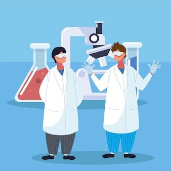 유전 공학 화학 및 의사
