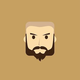 Gentleman avatar portrait icon