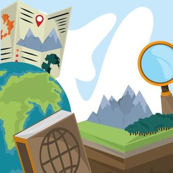 地理の探索と旅行