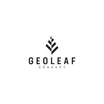 Логотип geoleaf
