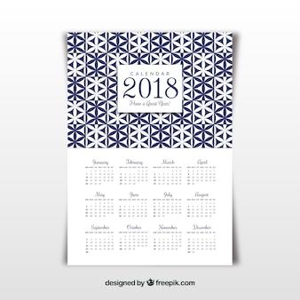 Geometri 2018 calendar