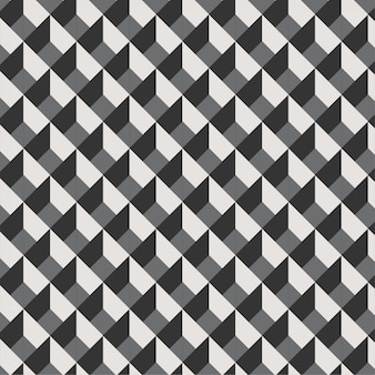 Geometric 3d lines cool minimal pattern . background black and white