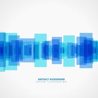 Blu forme astratte manifesto disegno di sfondo