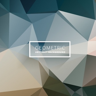 Geometric abstract background in earth tones Free Vector