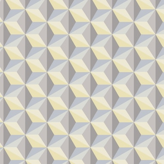 Geometric abstract background in gray, blue and yellow tones