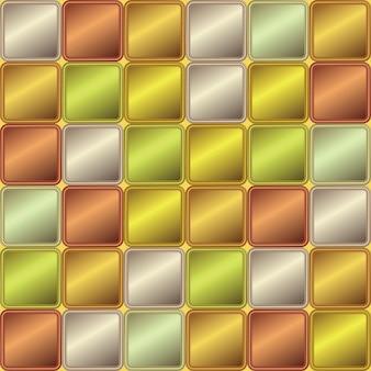 色付きの正方形の幾何学的な抽象的な背景