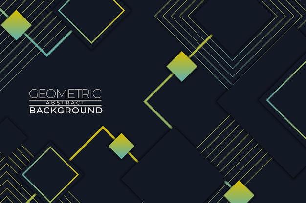 Геометрический абстрактный фон квадратный стиль rgb