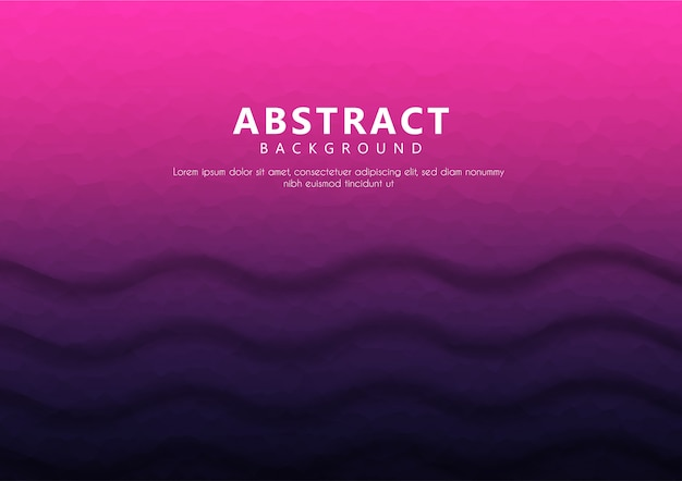 Geometric abstract background text with gradient color