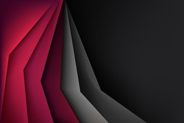 コピースペースと幾何学的な抽象的な背景