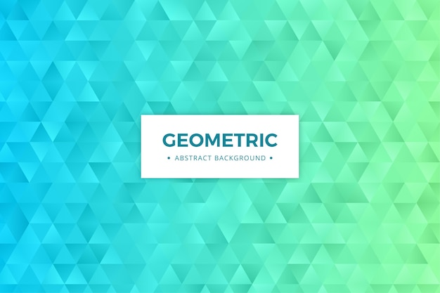 Geometric abstract background Premium Vector