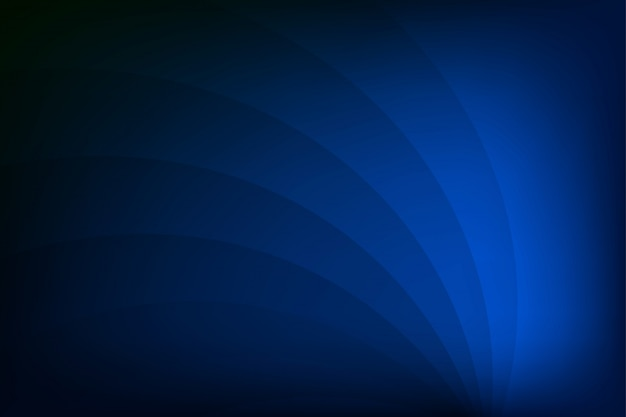 Geometric abstract blue background