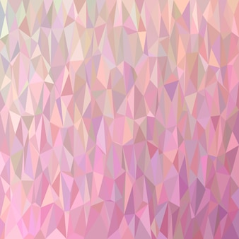 Geometric abstract chaotic triangle pattern background - polygon vector graphic from colored triangles