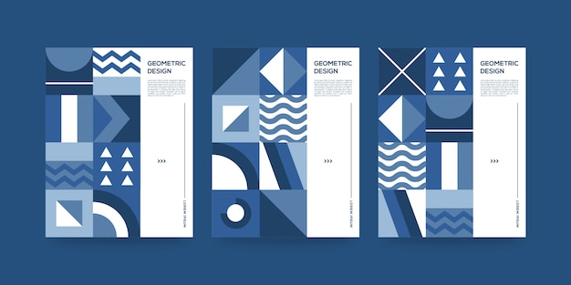 Geometric abstract covers